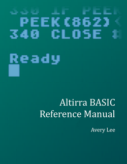 Altirra BASIC reference manual