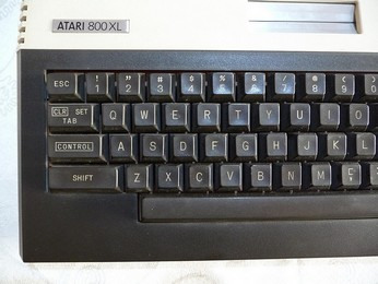 PAL Atari 800XL Keyboard, left